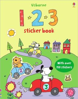 123 Sticker Book [With Over 150 Stickers]