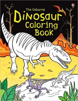 Dinosaur Coloring Book By Simon Tudhope