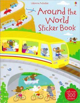 Around the World Sticker Book