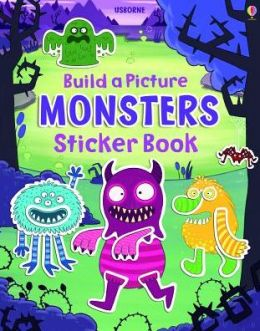 Build a Picture Monsters Sticker Book