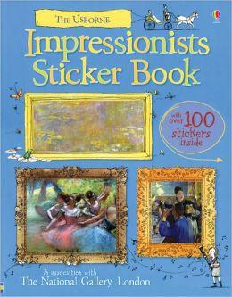 Impressionists Sticker Book