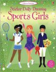 Book Cover Image. Title: Sticker Dolly Dressing Sportsgirls, Author: Fiona Watt