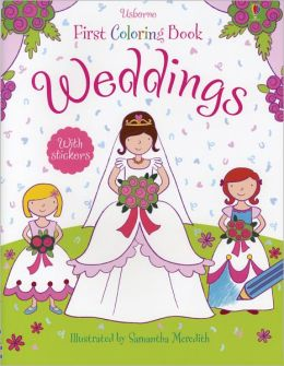 Weddings Sticker Color Book