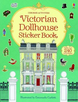 Victorian Dollhouse Stickerr Book