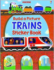 Build a Picture Sticker Trains