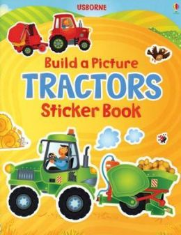 Build a Picture Tractors Sticker Book