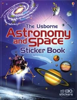 Astronomy and Space Sticker Book IR