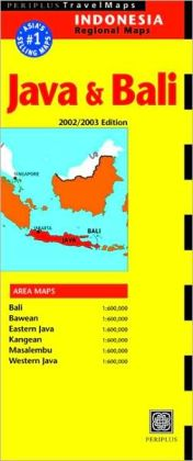 Java and Bali Map