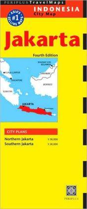 Jakarta Travel Map 4th Edition