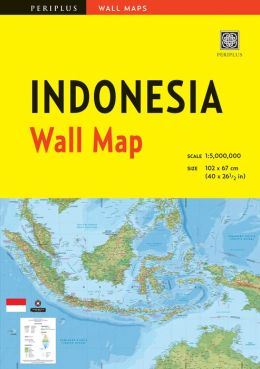 Indonesia Wall Map Second Edition
