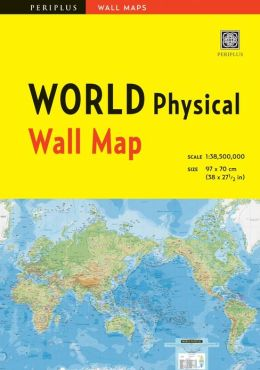 World Physical Wall Map