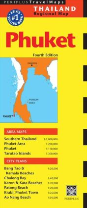 Phuket Travel Map Fourth Edition