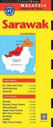 Sarawak Travel Map Fourth Edition