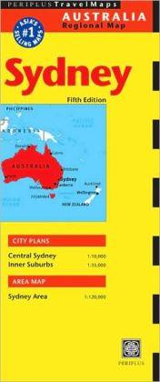 Sydney Travel Map Fifth Edition