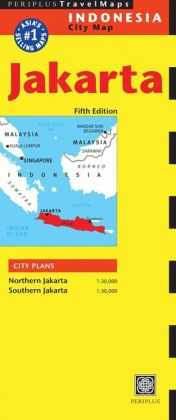 Jakarta Travel Map Fifth Edition