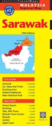 Sarawak Travel Map Fifth Edition