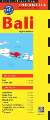 Bali Travel Map Eighth Edition