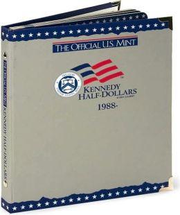 Official U.S. Mint Kennedy Half-Dollars Coin Album: 1988-