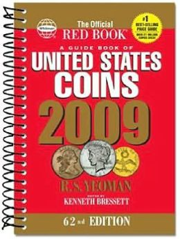 The Official Red Book: A Guide book of U.S Coins 2009 Spiral