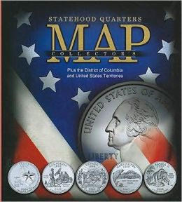 Whitman Statehood Quarter Collectors Map