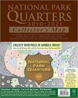 National Park Quarters Map