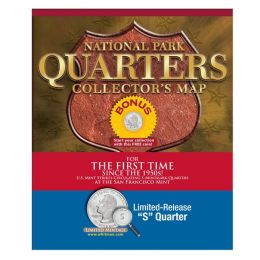 National Park Quarters Collector's Map: With Limited Release