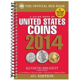 A Guidebook of United States Coins 2014 (Official Red Book Spiral)