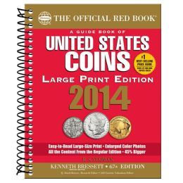 A Guidebook of United States Coins 2014 (The Official Red Book Large Print Edition)