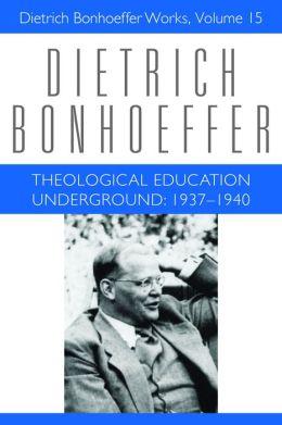 Theological Education Underground: 1637-1940