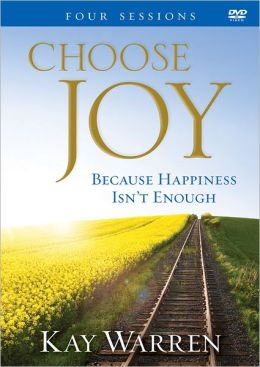 Choose Joy DVD: Because Happiness Isn't Enough (A Four-Session Study)