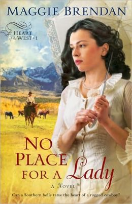 No Place for a Lady (Heart of the West Series #1)