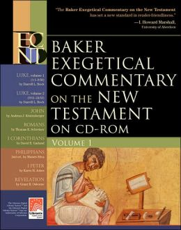 Baker Exegetical Commentary on the New Testament on CD-ROM, vol. 1