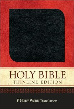 GW Thinline Bible Charcoal Bonded Leather