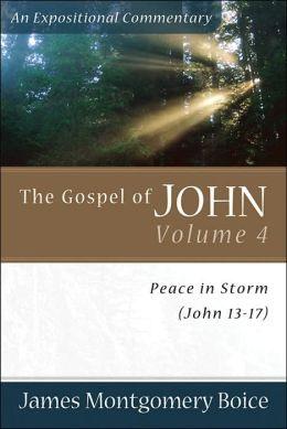 Gospel of John, The: Peace in Storm (John 13-17)
