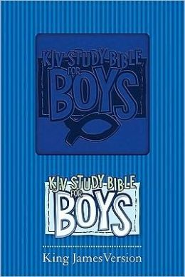 KJV Study Bible for Boys Blue Duravella