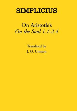On Aristotle's On the Soul 1 and 2.1-4