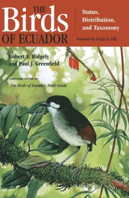 The Birds of Ecuador: Field Guide,Volume II