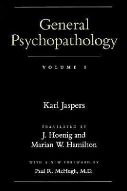 General Psychopathology, Volume 1