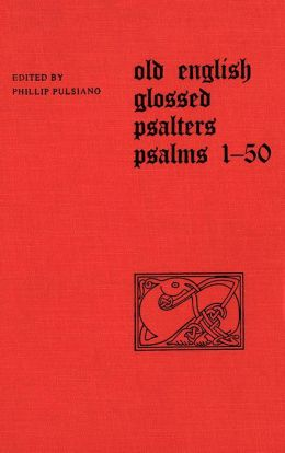 Old English Glossed Psalters