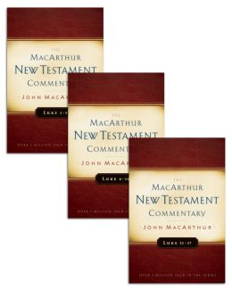 Luke 1-17 MacArthur New Testament Commentary Set