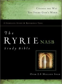 The Ryrie NAS Study Bible Hardback Red Letter Indexed