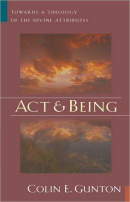 Act And Being