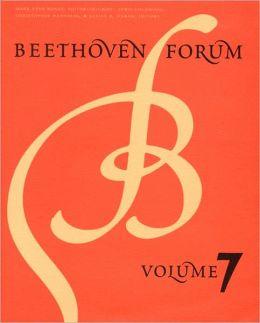 Beethoven Forum, Volume 7