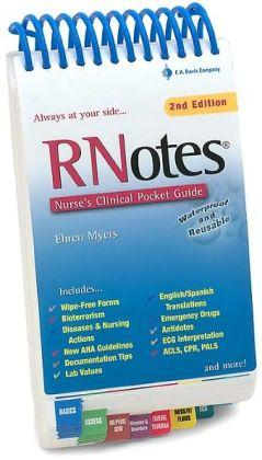 RNotes: Nurse's Clinical Pocket Guide