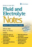 Book Cover Image. Title: Fluid and Electrolyte Notes:  Nurse's Clinical Pocket Guide, Author: Allison Hale