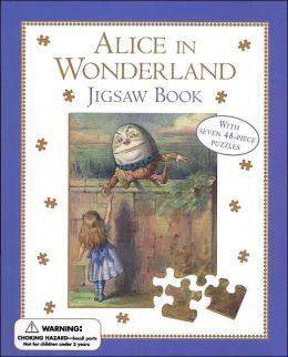 Alice in Wonderland Jigsaw Book