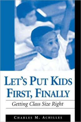 Let's Put Kids First, Finally