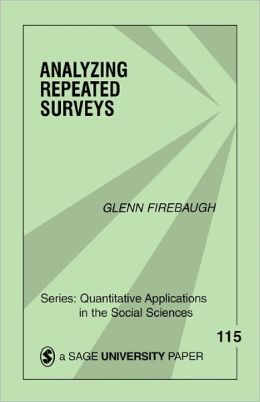 Analyzing Repeated Surveys