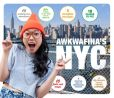 Book Cover Image. Title: Awkwafina's NYC, Author: Nora Lum