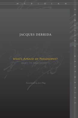 Who's Afraid of Philosophy?: Right to Philosophy 1